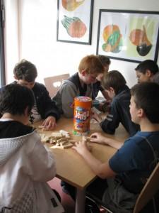 Spieleraum im Ganztagsgebäude